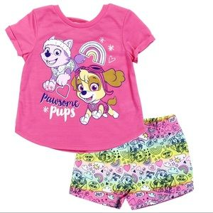 Girls 2 piece Outfit Paw Patrol Toddlers
